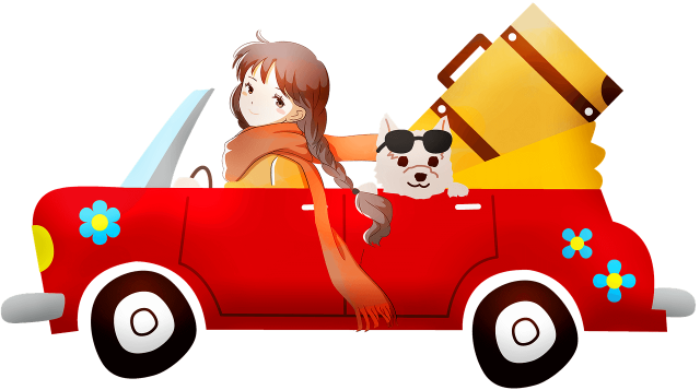 Summer travel with your dog